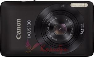 Canon Digital IXUS 130 Black - основное фото