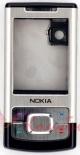 Корпус Nokia 6500 slide Black Silver