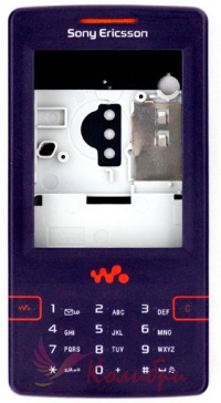 Корпус Sony Ericsson W950 - основное фото