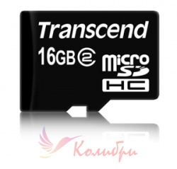 Transcend MicroSDHC 16GB - основное фото