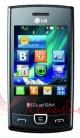 LG P520 Duos Black