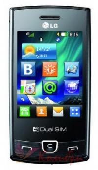 LG P520 Duos Black - основное фото