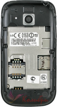 LG P690 Black - фото 4