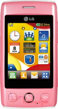 LG T300 Pink - основное фото