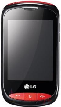 LG T310i Black Red - основное фото