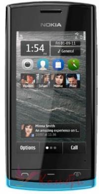 Nokia 500 Blue Black - основное фото