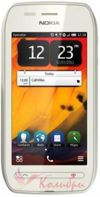 Nokia 603 White White - основное фото