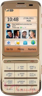 Nokia C3-01.5 Gold - основное фото