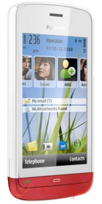 Nokia C5-03 White Red - фото 1