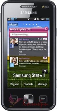 Samsung C6712 Star II Duos - основное фото