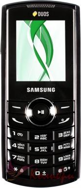Samsung E2232 Duos Black - основное фото