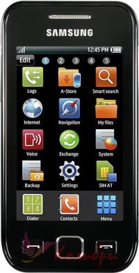 Samsung S5250 Metallic Black - основное фото