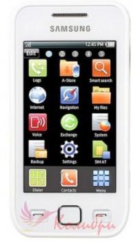 Samsung S5250 Wave Pearl White - основное фото
