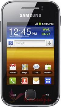 Samsung S5360 Galaxy Young Metallic Black - основное фото