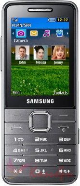 Samsung S5610 Metallic Silver - основное фото