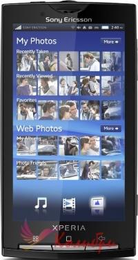 Sony Ericsson X10i  Xperia - основное фото